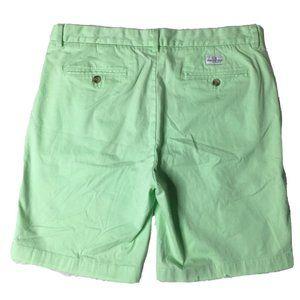 EUC Vineyard Vines 34 Lime Green Breaker Shorts